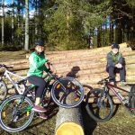 Mountainbiketour Wald